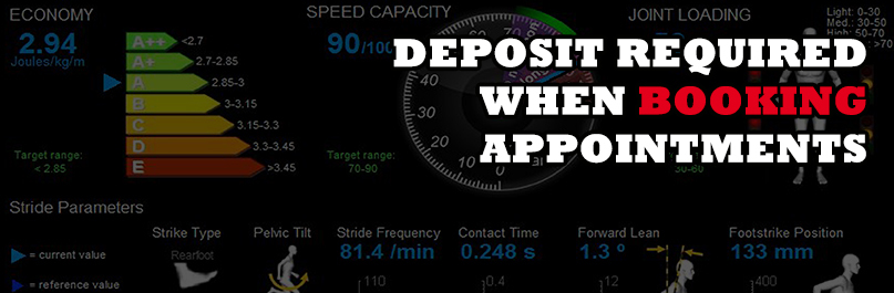 Deposit required when booking