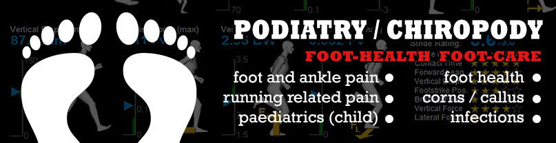 Podiatrry  / chiropody at StrideUK
