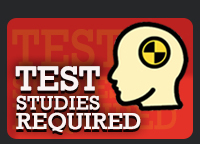 Test Studies Required