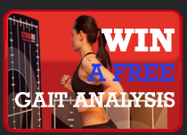 Win a FREE Gait Analysis
